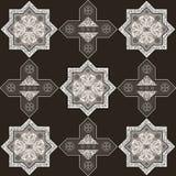 Iranian pattern 58 Royalty Free Stock Photography