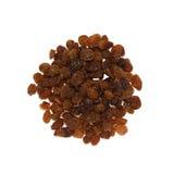 Iranian raisins. Isolated on white background Royalty Free Stock Photography