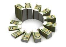 Iranian Rial Chart Stock Photos