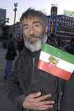 Iranian staged proets Stock Image