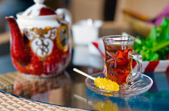Iranian Tea Stock Photography