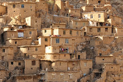 Iranian village Royalty Free Stock Image
