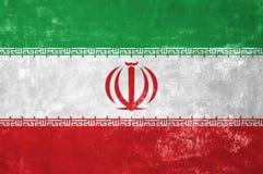 Iransk flagga Arkivfoto