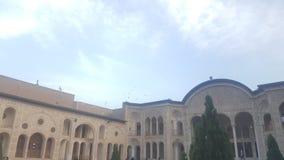 iranska hus royaltyfri bild