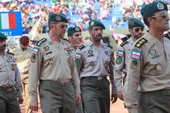 Iranska soldater Arkivfoton