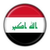 Iraq button flag round shape Stock Image