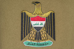 Iraq Coat of Arms Royalty Free Stock Image