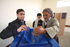 Iraq Election Royalty Free Stock Photo