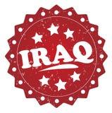 Iraq grunge stamp Stock Photo