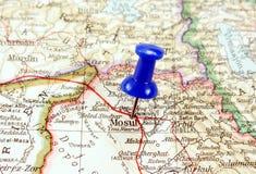 iraq mosul Royaltyfria Bilder