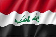 Iraq national flag, vector illustration Royalty Free Stock Photography