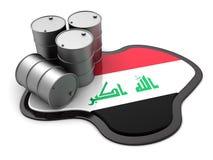 Iraq oil Royalty Free Stock Photo