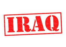 IRAQ Rubber Stamp Stock Images