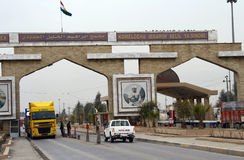 Iraq Turkey Border Royalty Free Stock Photo
