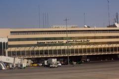 Iraqi Airways plane royalty free stock photo