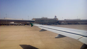 Iraqi Airways-vliegtuig Royalty-vrije Stock Foto's