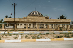 Iraqi building in Summer Stock Photo