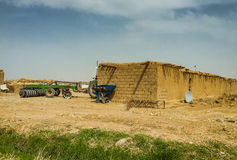 Iraqi countryside in Summer Stock Photo