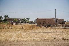 Iraqi countryside in Summer Stock Image