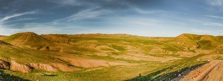Iraqi desert. In Spring season near Kirkuk city Royalty Free Stock Photography