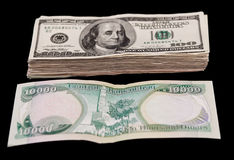 Iraqi Dinars Stock Image
