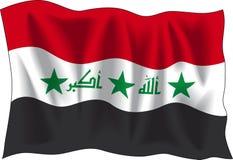 Iraqi flag Stock Photography
