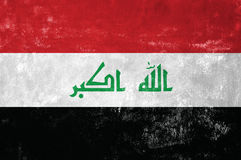 Iraqi Flag Stock Image