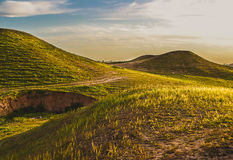 Iraqi Landscape in spring Stock Photography