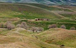 Iraqi landscape in Winter season Stock Images