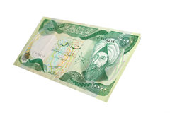 Iraqi money Royalty Free Stock Image