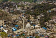 Iraqi township of Akrah. Akrah township in Duhok city in Iraq Royalty Free Stock Images