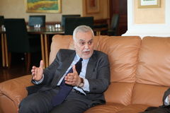 Iraqi Vice President Stock Photo