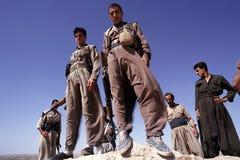 1993 Iraque norte - Curdistão Fotografia de Stock