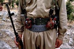 1993 Iraque norte - Curdistão Fotos de Stock Royalty Free