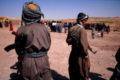 1993 Iraque norte - Curdistão Imagens de Stock Royalty Free