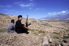 1993 Iraque norte - Curdistão Fotos de Stock