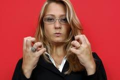 irated женщина Стоковые Изображения RF