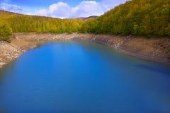 Irati Pantano de Irabia swamp in Navarra Pyrenees Spain Stock Image
