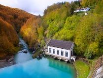 Irati Pantano de Irabia swamp in Navarra Pyrenees Spain Royalty Free Stock Images