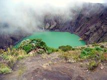 Irazu crater Stock Images