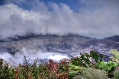 Irazu Volcano, Costa Rica Royalty Free Stock Image