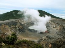 Irazu Volcano Royalty Free Stock Photography