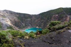 Irazu-Vulkan in Costa Rica lizenzfreies stockbild