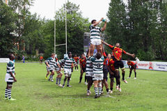 IRB Junior World Rugby Trophy Stock Image