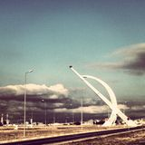 Irbil国际aiport伊拉克 免版税库存照片
