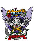 IRBIS Vector Isolated royalty free illustration