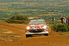 IRC 2010 - Meeke Kris Royalty Free Stock Images