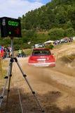 IRC 2010 - Trentin Mauro. IRC 2010 - Intercontinental Rally Challenge - Rally d'Italia Sardegna - 4/6 Jun 2010 - Shakedown 04-06-2010 - Driver Trentin Mauro Stock Photos