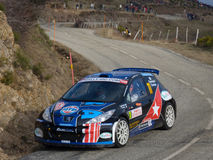IRC 2011 - GARDEMEISTER / TUOMINEN - Peugeot 207 Stock Photography