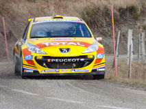 IRC 2011 - NEUVILLE  / KLINGER - Peugeot 207 S2000 Royalty Free Stock Images
